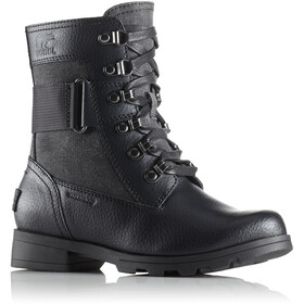 Sorel Emelie Conquest Boots Kinder black/black